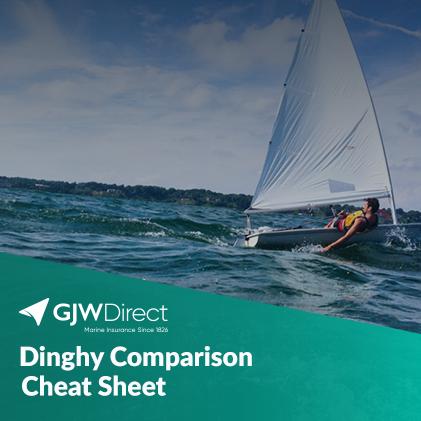 Dinghy comparison cheat sheet