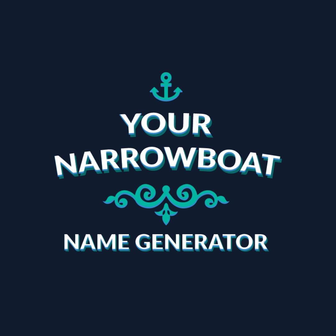 Narrowboat Name Generator