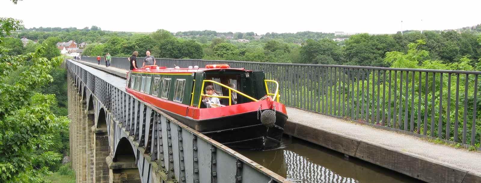 Narrowboat Route Llangollen Canal